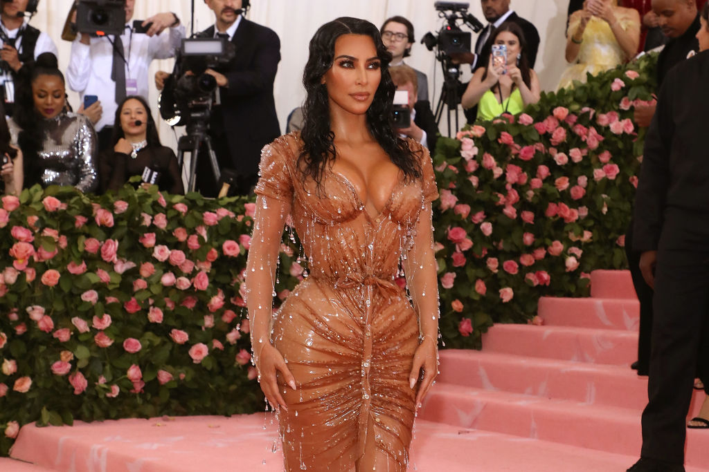 Kim Kardashian Reveals How She Really Fit Into Her 2019 Met Gala Dress