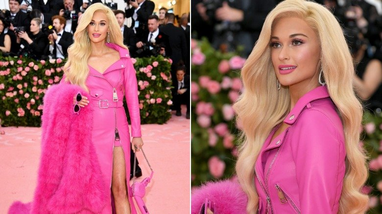 Here's How Kacey Musgraves Pulled Off Her Barbie Blonde Hair at the 2019 Met Gala